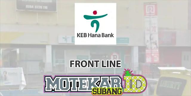 Loker Service Frontliner Hana Bank Sadang Purwkarta 2019