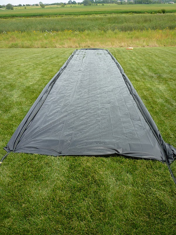 It's Written on the Wall: A DIY Slip n Slide (AMAZING) and ...