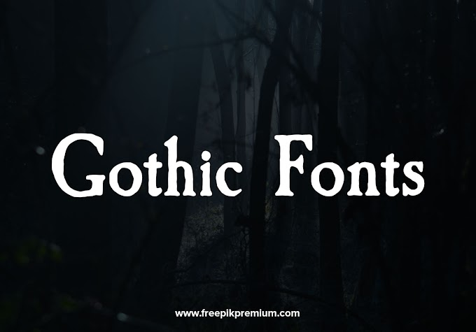 15 High-Trending FREE Gothic Fonts For Designers