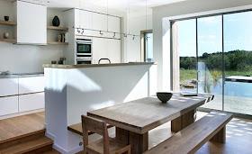 desain rumah minimalis: desain atap rumah hijau ramah