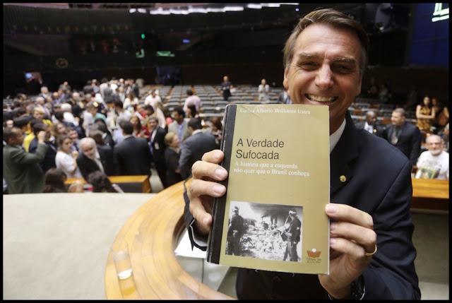 """Homenageado por Bolsonaro """"A Verdade Sufocada"""" Coronel Ustra é odiado pela esquerda?"""
