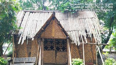 Kondisi Taman Bambu di Kota Tangerang kini Kumuh dan Hancur