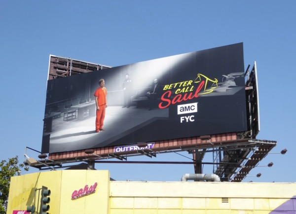 Better Call Saul season 3 Emmy FYC billboard