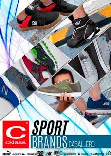 Catalogo Cklass sport brand caballero 2017