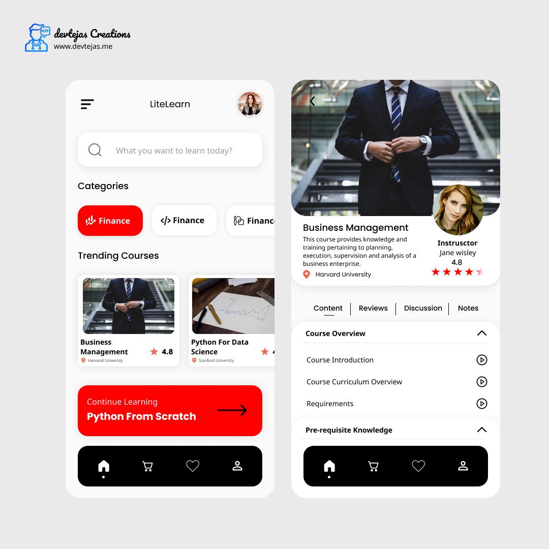 LiteLearn app