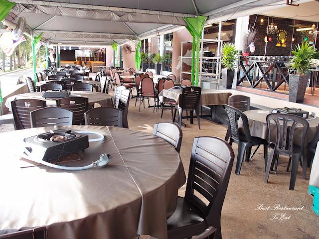 D'Kayangan Steamboat BBQ Buffet Restaurant Shah Alam Outside