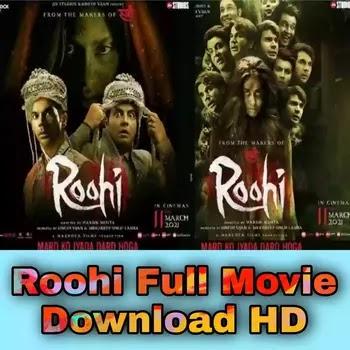 Roohi 2021 Full Movie Download HD Tamilrockers, Filmyzilla, 9xmovies