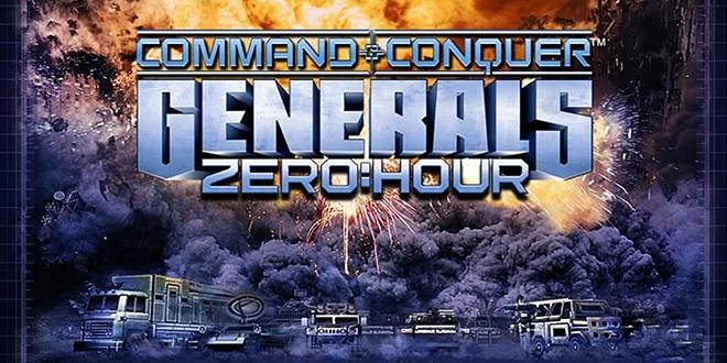تحميل اللعبة الاستراتيجية C&C: Generals Zero Hour الأصلية بدون إضافات