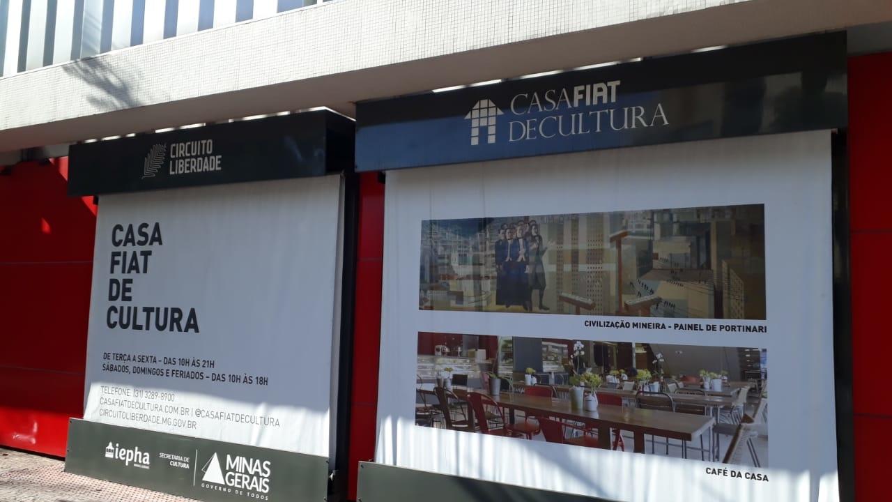 Casa Fiat de Cultura no Circuito Cultural Praça da Liberdade - Belo Horizonte