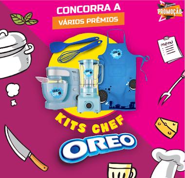 Promoção - Sorteios de R$ 50 Mil Toda Semana E Kits Chef Oreo