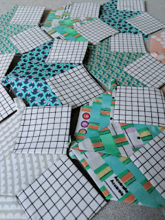 paper pieced blocks layout