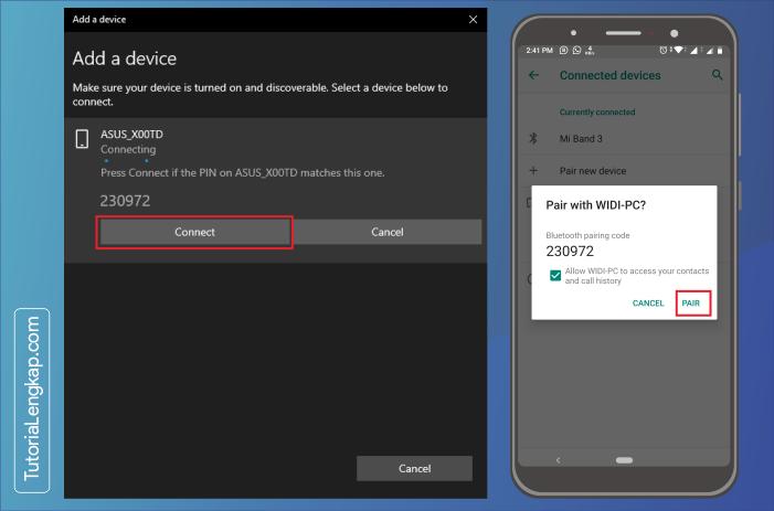 tutorialengkap 5 Cara Menghubungkan Smartphone Sebagai Perangkat Bluetooth Pada Windows 10