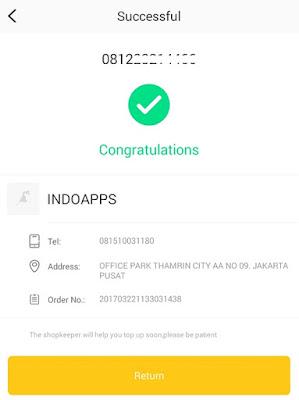 Aplikasi Tokovips - Dapat Pulsa Gratis Dari Kegiatan Iseng