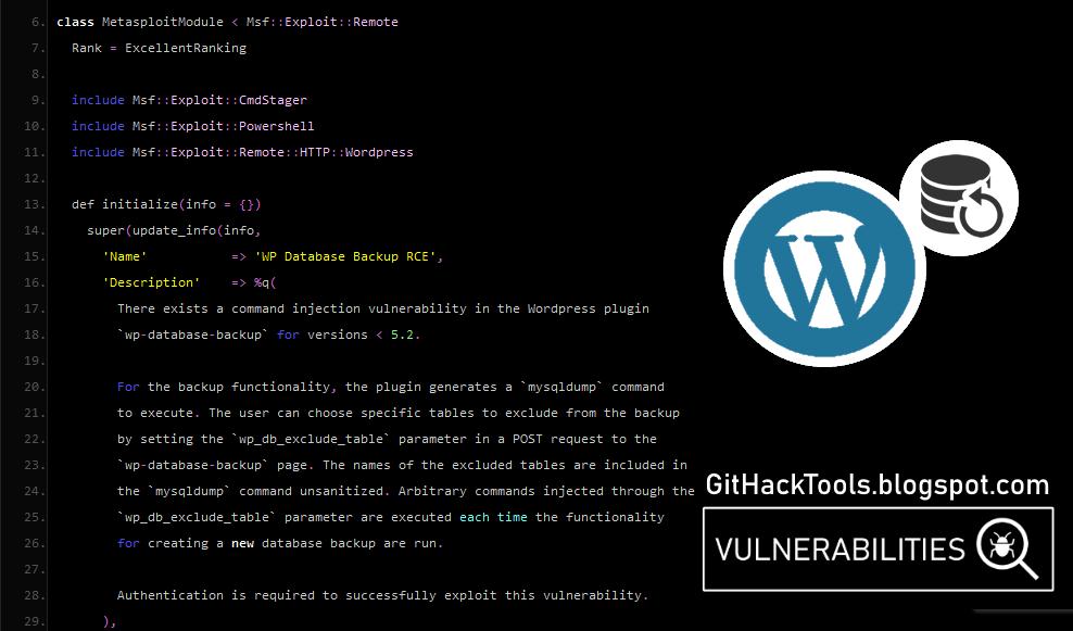 Metasploit Wordpress