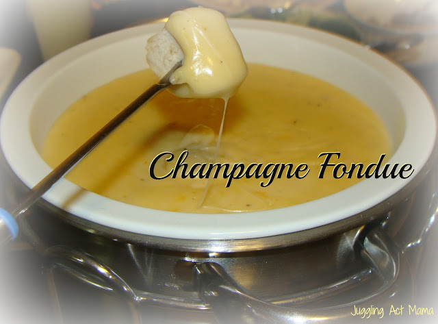 Champagne Fondue - Juggling Act Mama