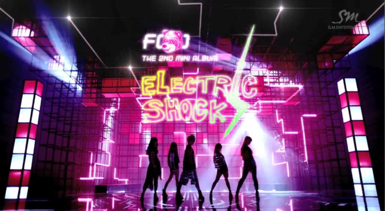 Oddness/Weirdness: f(x)'s Electric Shock MV + Album Mega Post F(x) Electric Shock Album Cover