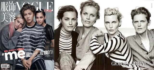 Vogue, Armani
