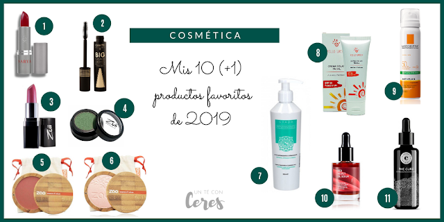 PRODUCTOS FAVORITOS 2019