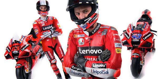 Lenovo assina com Ducati e torna-se principal parceiro da equipa de MotoGP