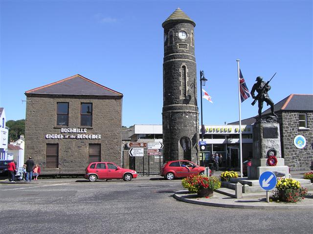 city of Bushmill in Ireland
