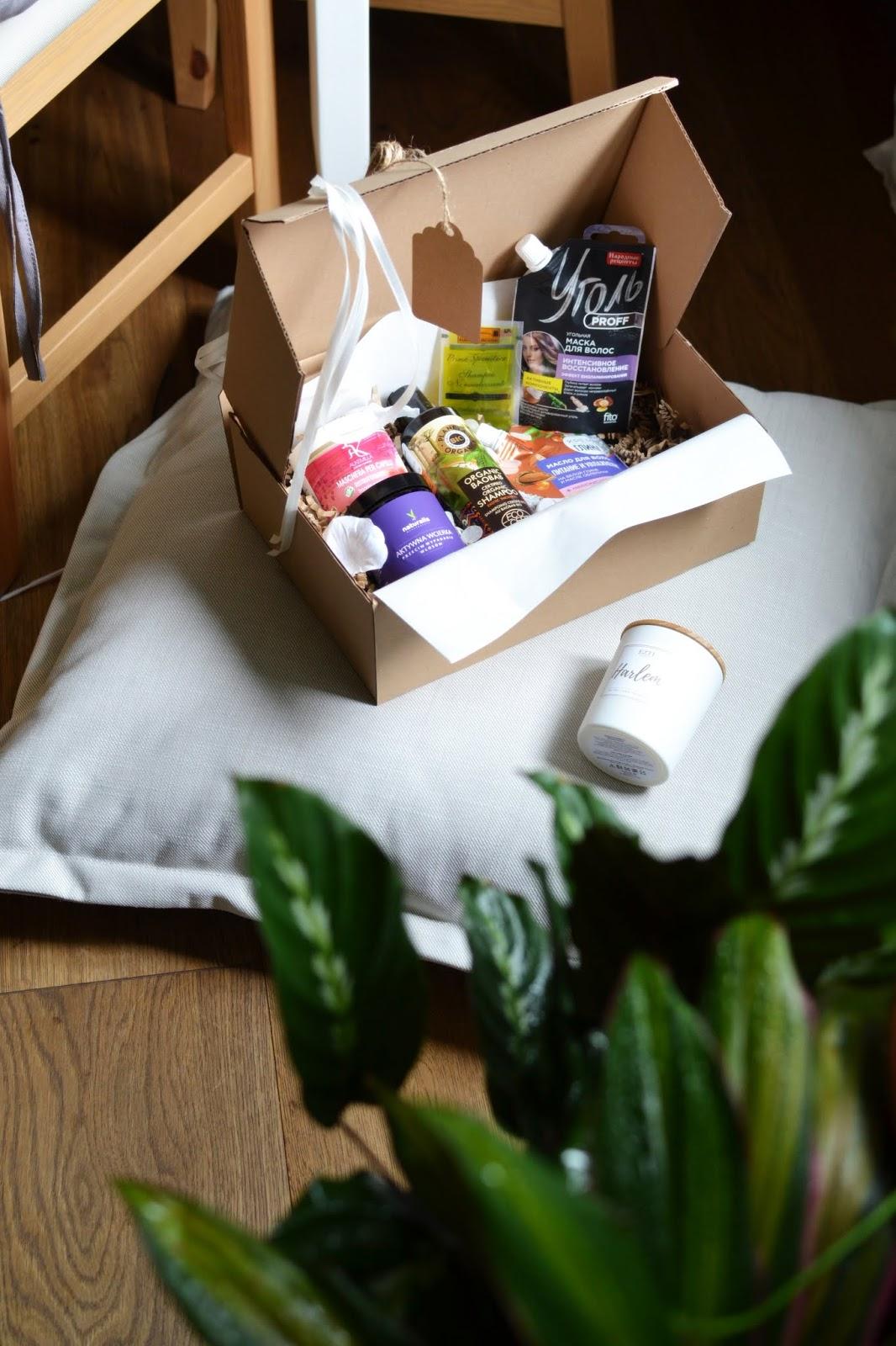 Włosbox Czerwiec - zawartość włosowego pudełka