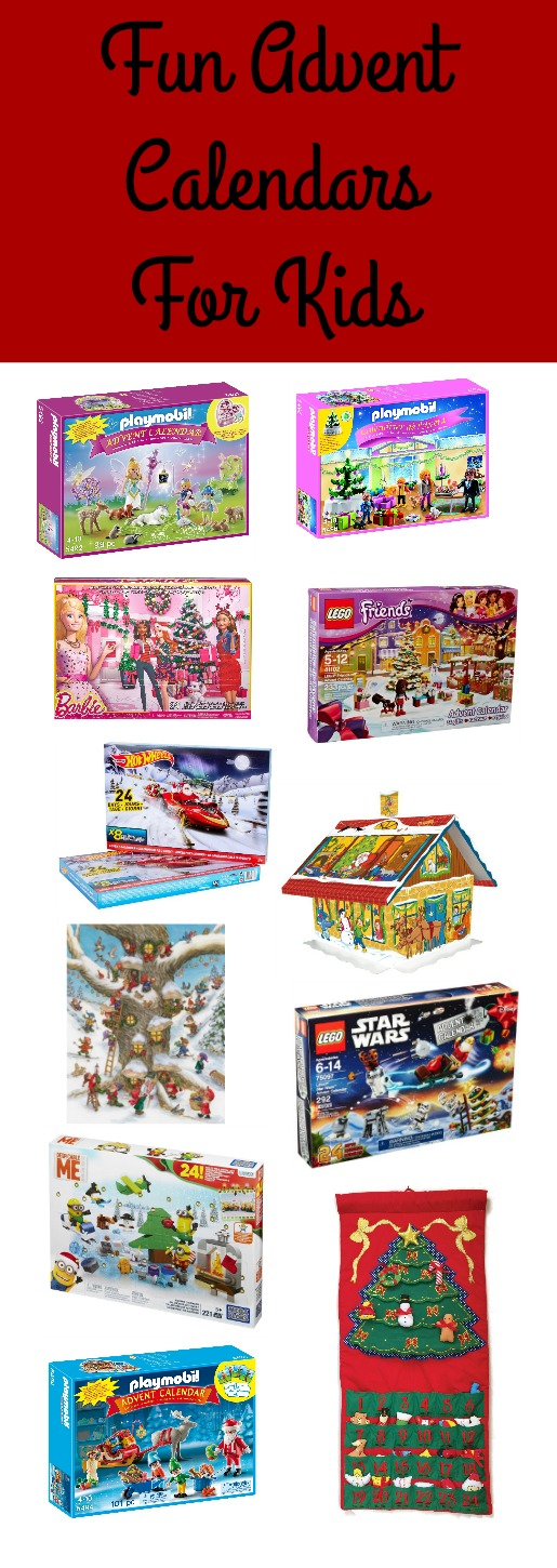 Fun advent calendars for kids.