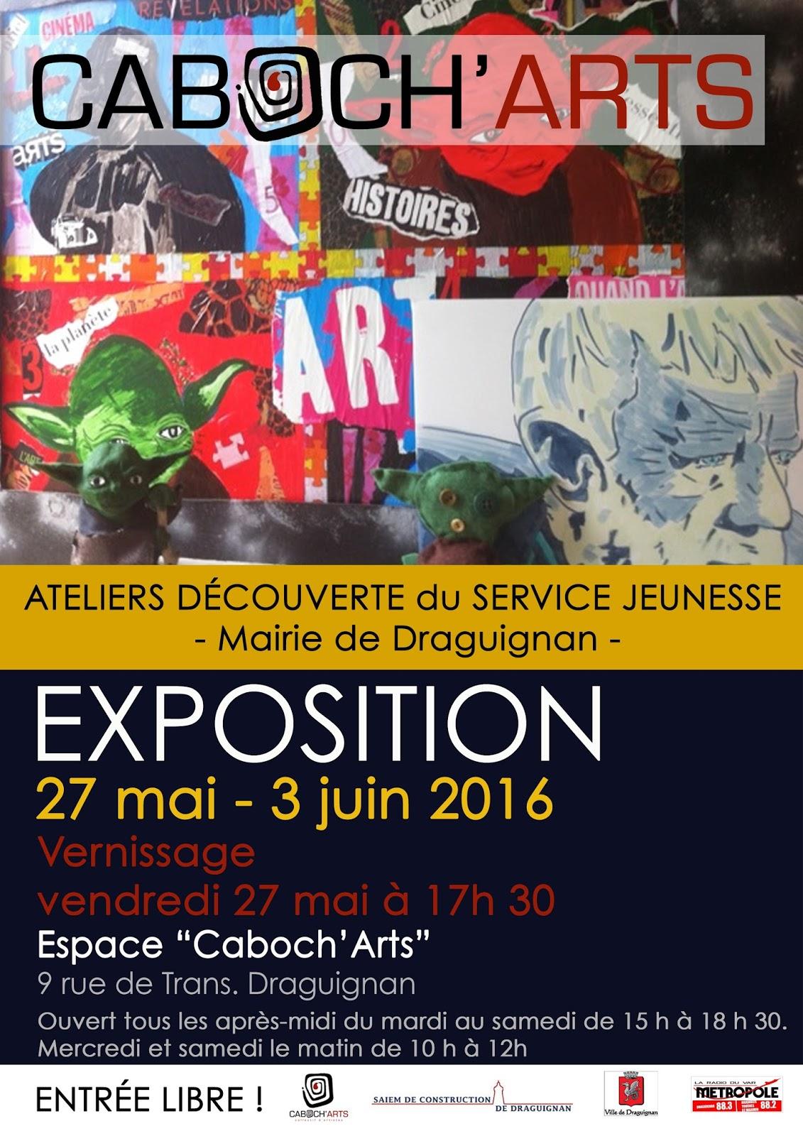 caboch u0026 39 arts  expo  u0026quot ateliers d u00e9couverte du service jeunesse