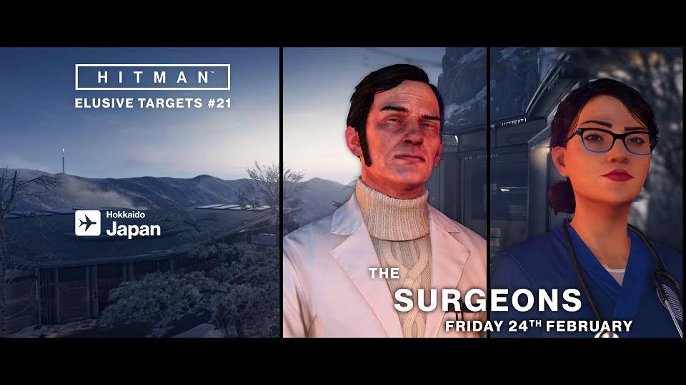 Acaba con Los Cirujanos en el nuevo objetivo escurridizo de Hitman