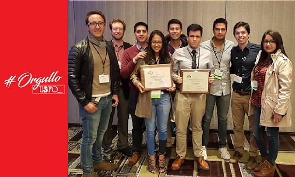 Nuevo galardón de excelencia universitaria para la USFQ