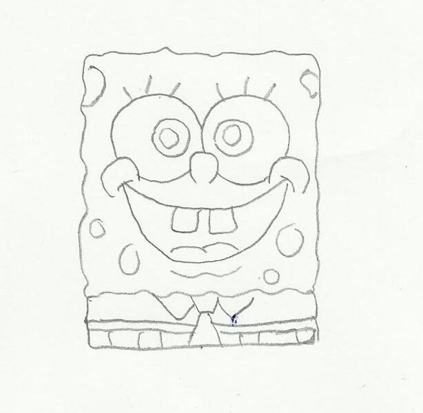 تعلم رسم سبونج بوب تعلم رسم سبونج بوب خطوة بخطوة أكادمية الرسام