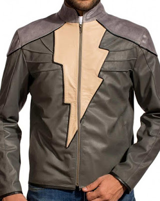 Black Adam Leather Jacket