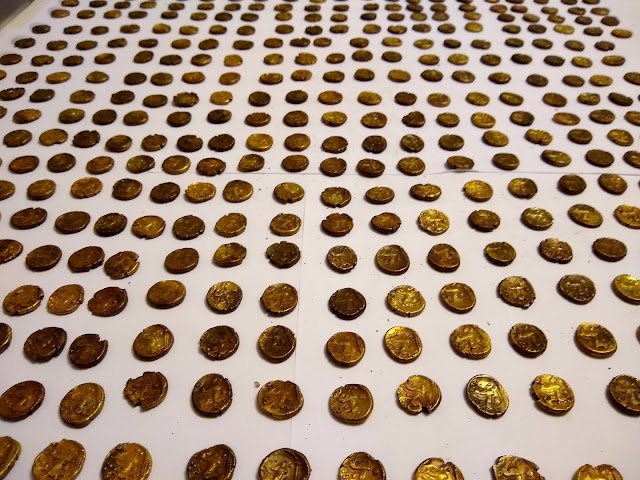 Birdwatcher stumbles upon Britain's largest 'Celtic' gold coin hoard