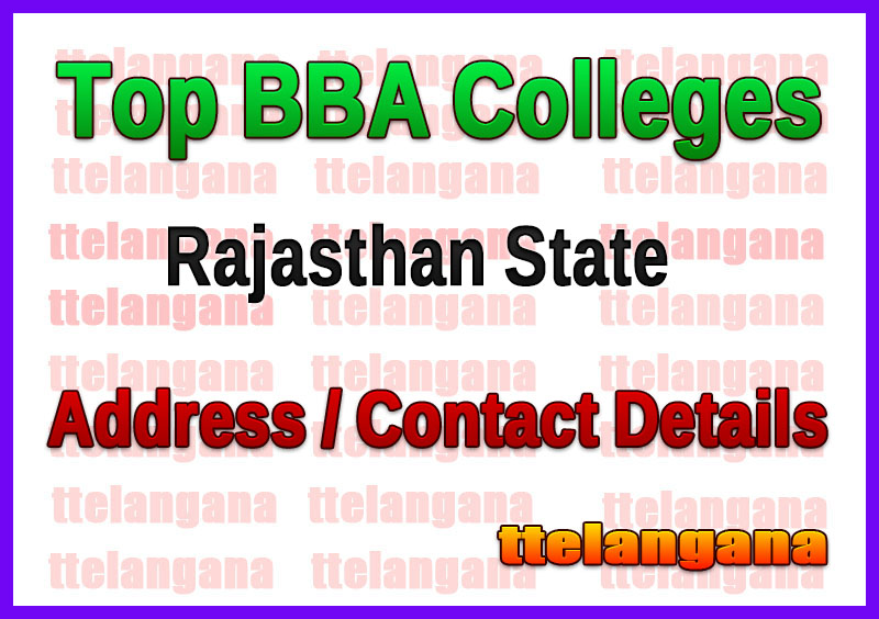 Top BBA Colleges in Rajasthan