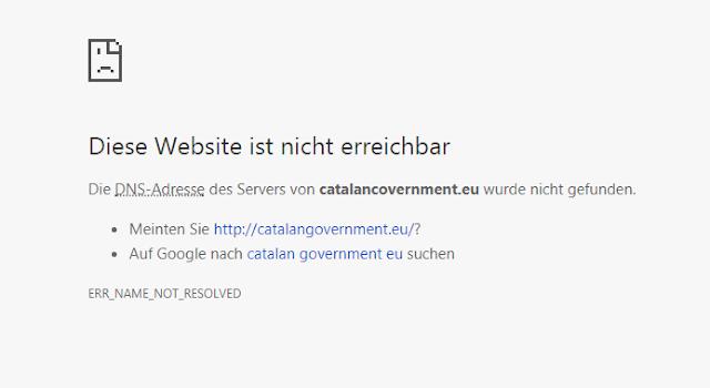 blocked site catalonia