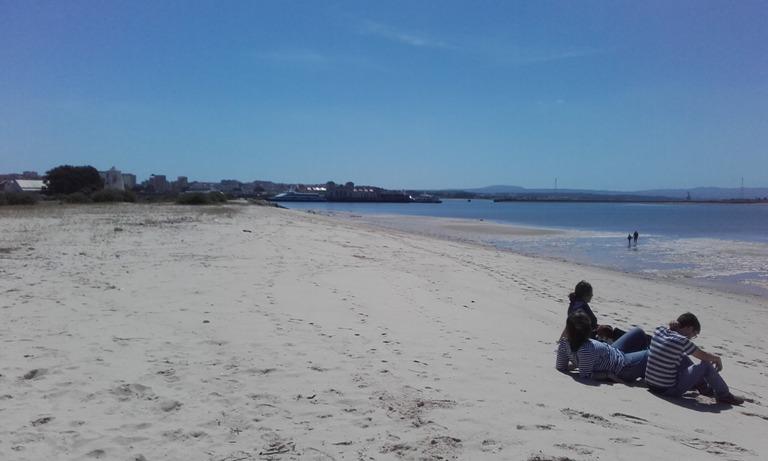 Areal Praia Fluvial Alburrica