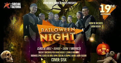 Bailoween 2017 en Revolution Bar