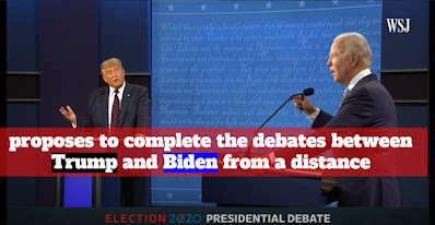 Senator Mitch McConnell, the majority leader in the Senate, proposes to complete the debates between Trump and Biden from a distance