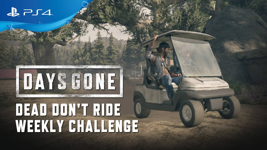 days gone ps4 dead don't ride mode weekly challenge bend studio sony