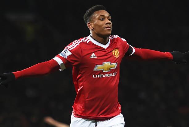 Anthony Martial, l'homme en forme actuellement chez United