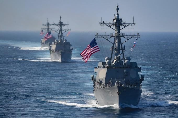 URGENTE: EUA anunciam envio de militares para costa da Venezuela