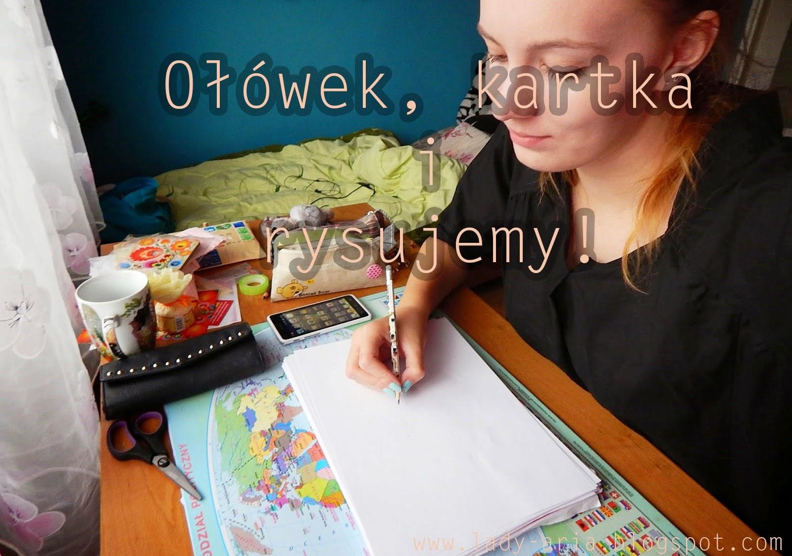 ~39 Kartka, ołówek i rysujemy!