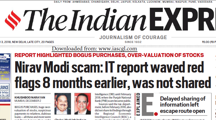 The Indian Express ePaper Download 3rd December 2018