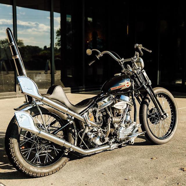 Harley Davidson Panhead By Nick Miller Hell Kustom