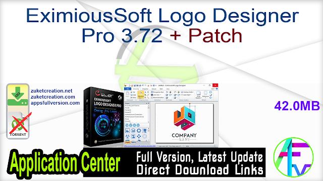 EximiousSoft Logo Designer Pro 3.72 + Patch