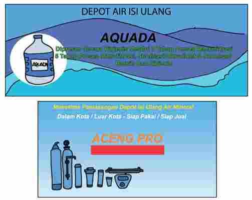 Iklan Air Minum Aquada