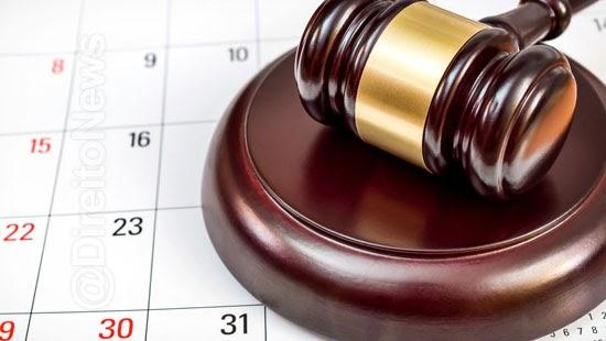 prazos processuais suspensos stj 20 dezembro