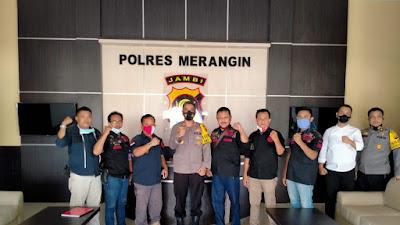 DPC ORMAS BIDIK MERNGIN, Giat Melakukan Koordinasi dengan Aparat Penegak Hukum (APH)