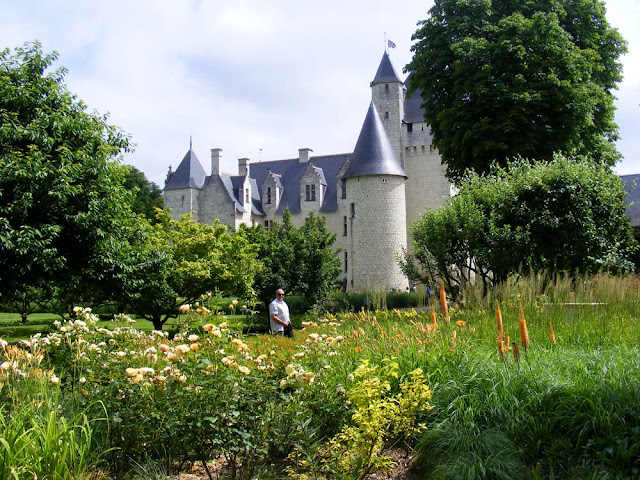 Chateau de Rivau.  Indre et Loire, France. Photographed by Susan Walter. Tour the Loire Valley with a classic car and a private guide.
