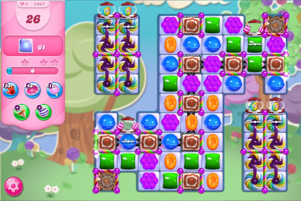 Candy Crush Saga level 5967