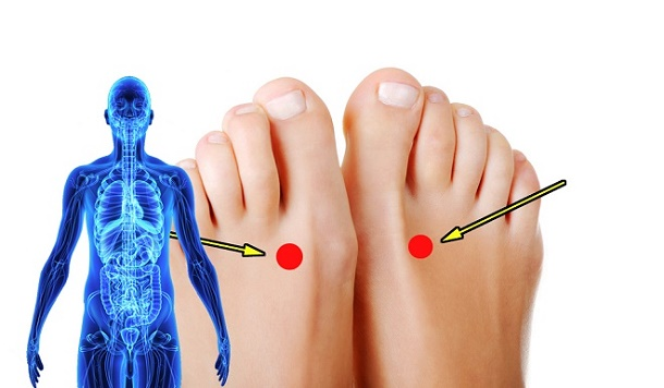 Why You Should Press This Point On Your Foot For 2 Minutes